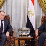 Russian FM talks Nile dam, defense cooperation in Egypt trip